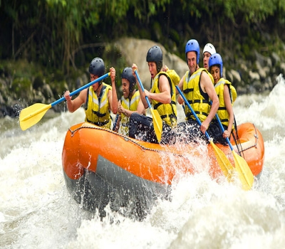 White Water Rafting on the Ayung River Bali